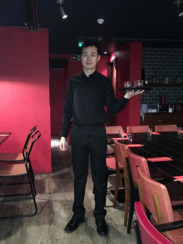 Chinese Restaurant waiter