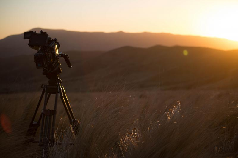 Shooting in hills of Argentina