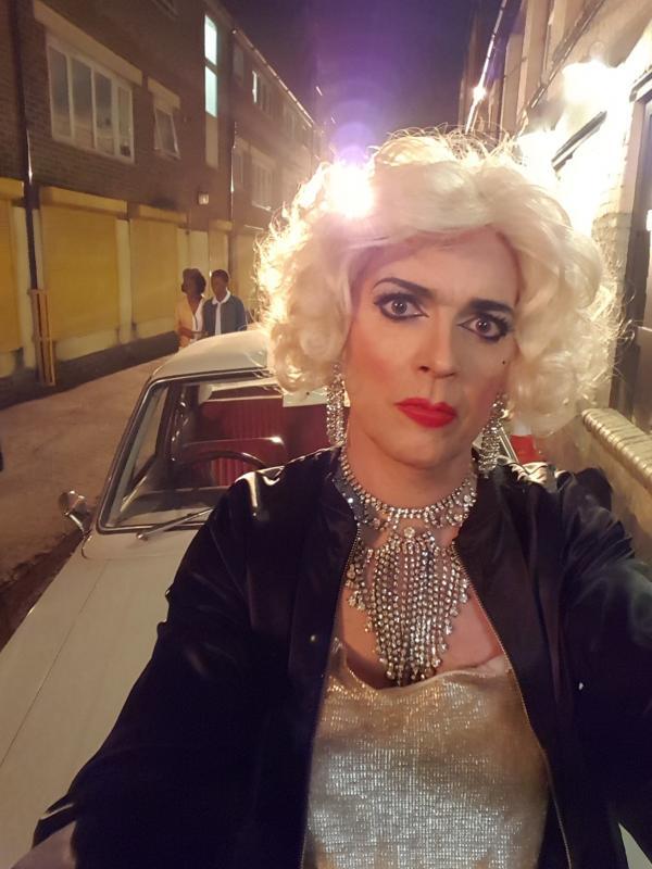 Stephan Bessant as Drag Queen in GUERRILLA