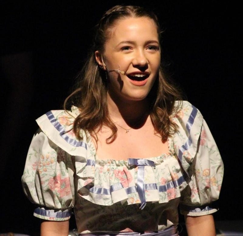 Production Still; Ann Pornick in Half A Sixpence