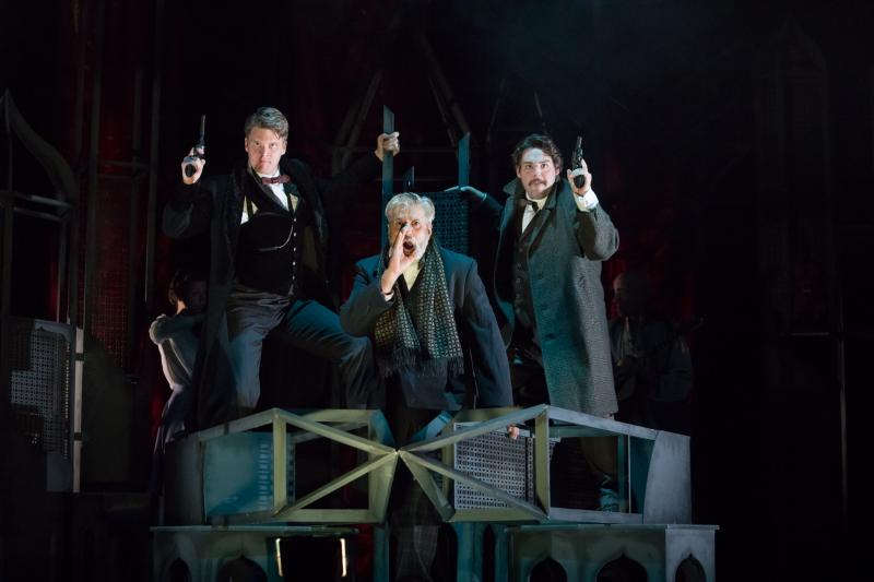 Sherlock Holmes: The Sign of Four for Blackeyed Theatre