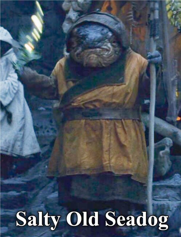 Caretaker - Star Wars: The Last Jedi