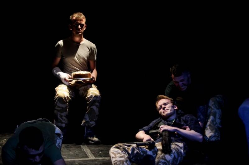 As George Thomas in MEMORY SOLDIER, 7th Sense Theatre Company