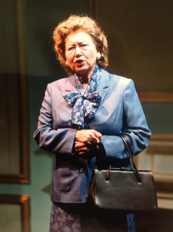 Mrs Thatcher (the older)