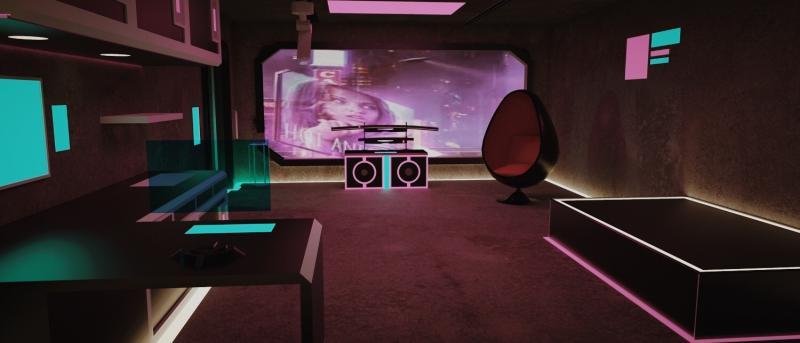 Cyber punk A's Apartment 2