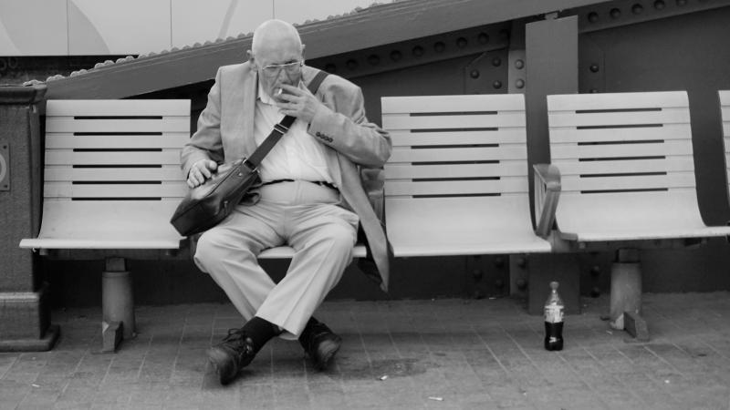 Old man - London