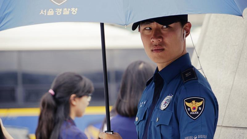 Korean Police Man