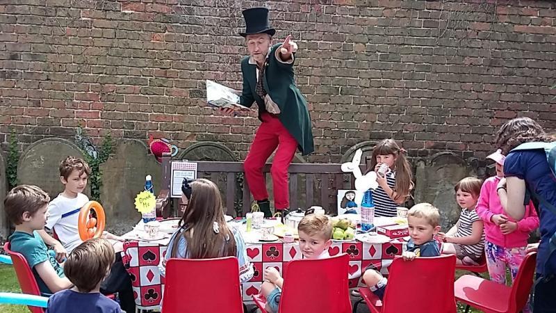 Mad Hatter, Alice in Wonderland Day