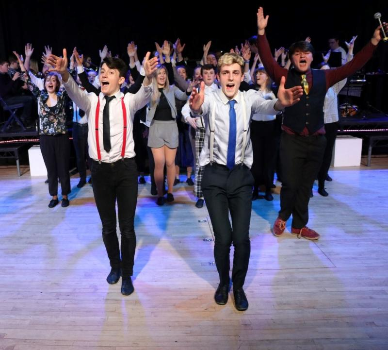 The Great Big Brotherhood of Man! - Brotherhood of Man, from How to Succeed in Business Without Really Trying (Cabaret 2018)