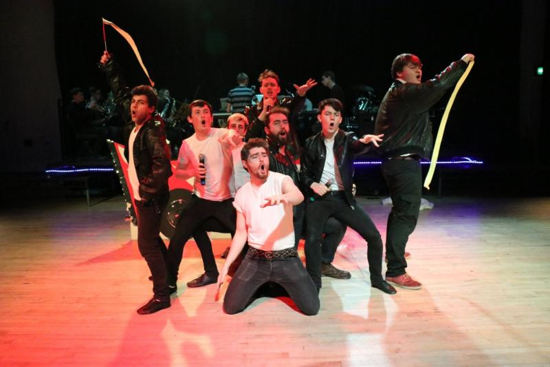 The T Birds - Greased Lightnin' from Grease (Cabaret 2018)