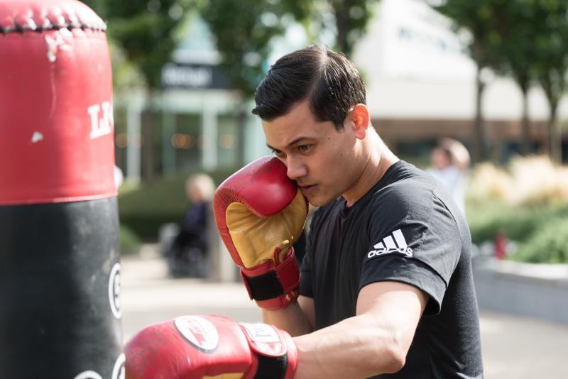 Boxing Fitness Shoot