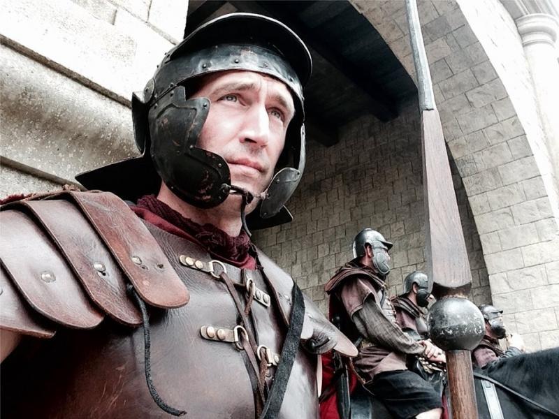 Britannia (TV program) Roman role.
