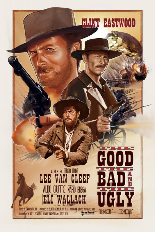 The good, the bad and the ugly illustration