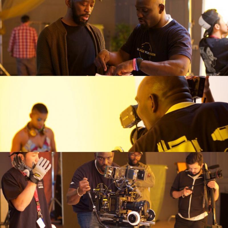 Eneeks feat Omar, Seasons Music Video Shoot