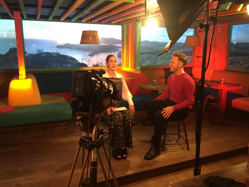 Sony interview with Olly Murs
