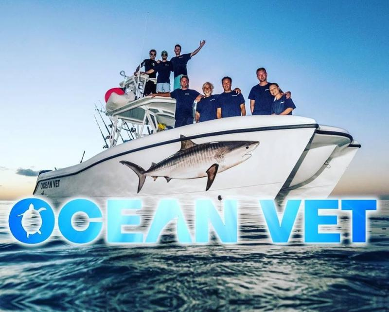 Discovery Television Series Ocean Vet Crew