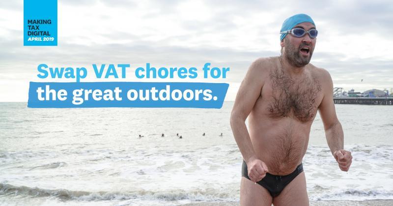 XERO VAT CHORES Commercial - Sea Swimmer