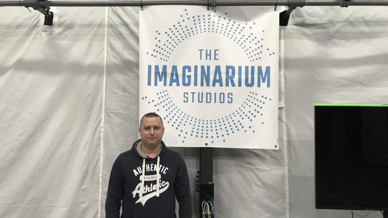 Stewart at Imaginarium Studios