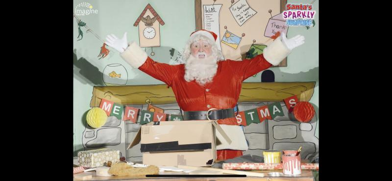 Santa , Santa's Sparkly surprise