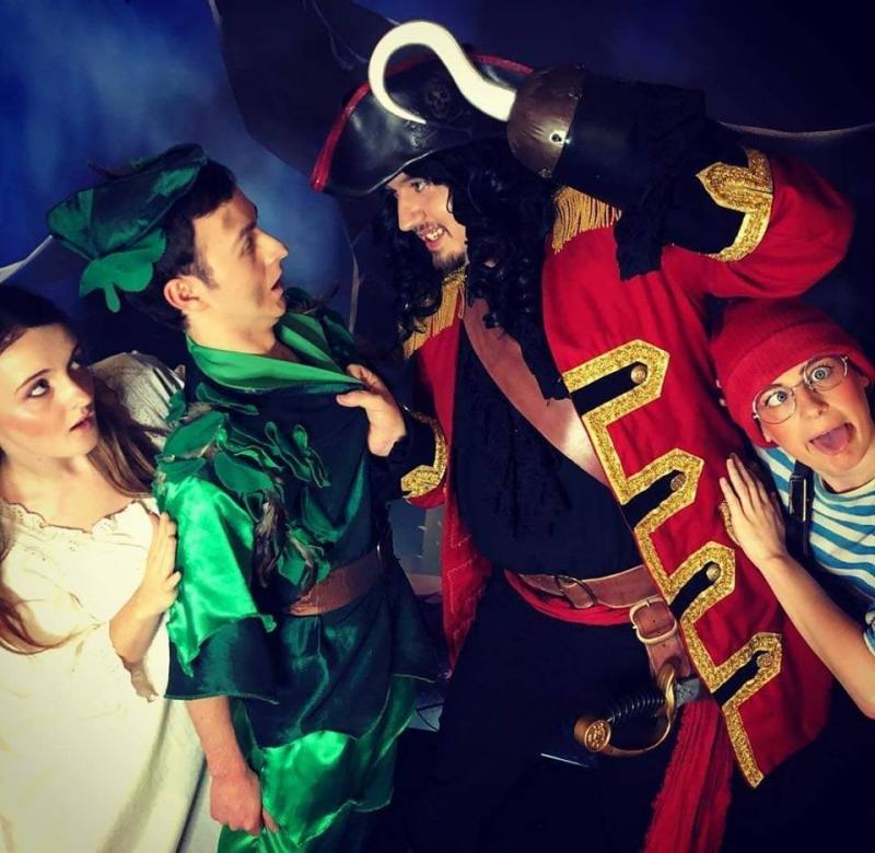 As Wendy Darling in Peter Pan