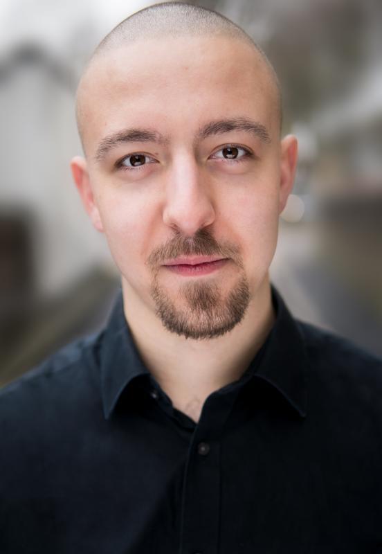Headshot - Bald w/ Beard