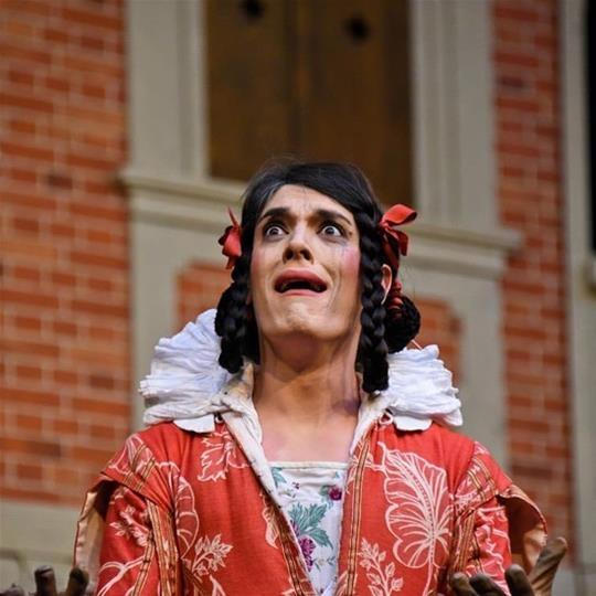 As Helena in A MIDSUMMER NIGHT'S DREAM, Pop-up Globe, Sydney, AUS