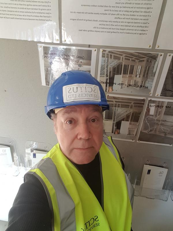 Selfie Construction worker