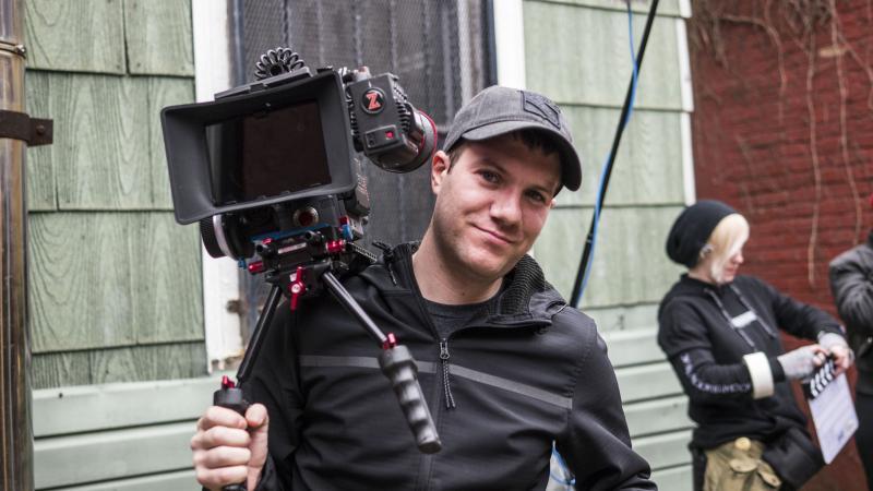 Shooting a musical short film