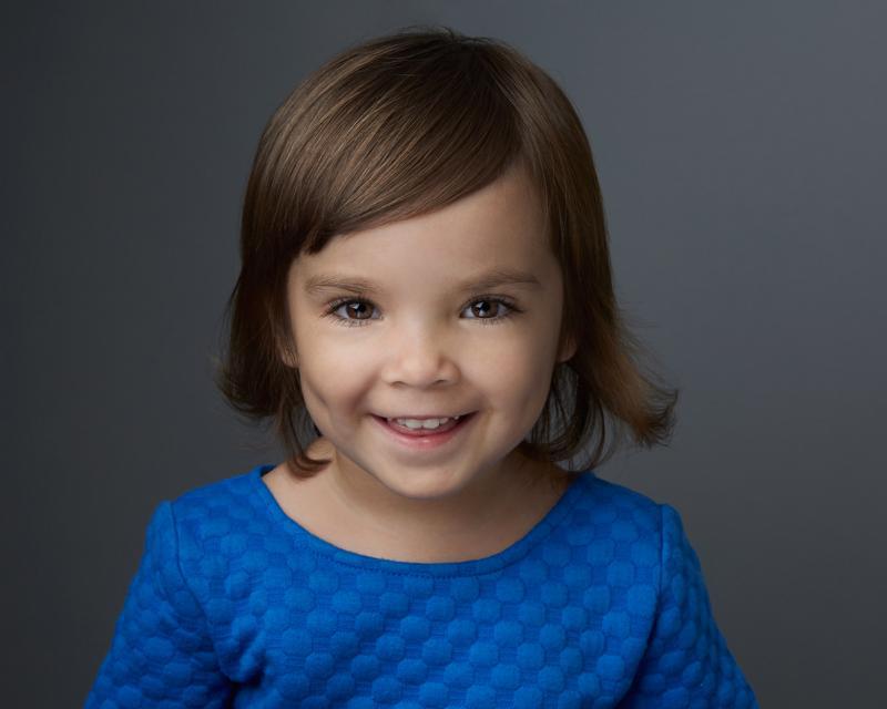 Little sister Isabelle. age 2