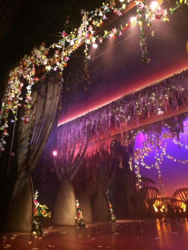 Rapunzel flowers - Rapunzel 2017-2018 - Theatre Royal Stratford East