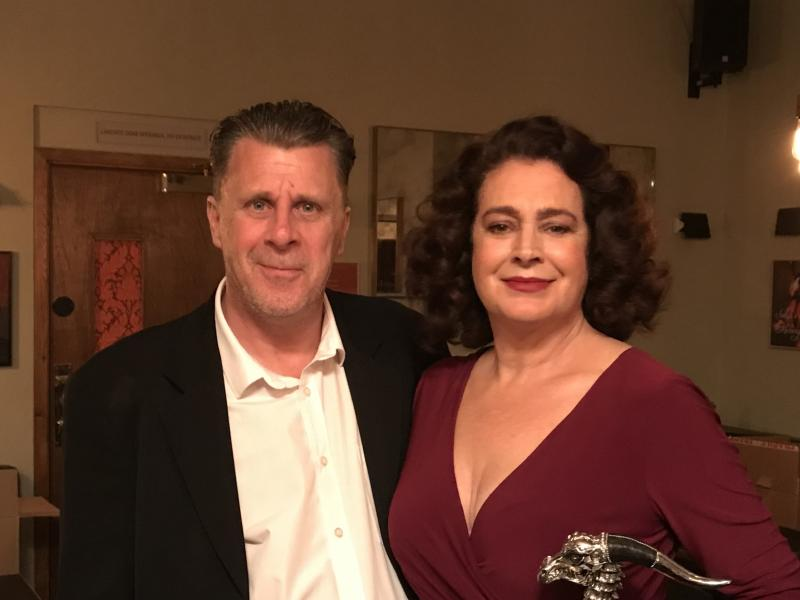 Mea Culpa (on set with Sean Young 2019)