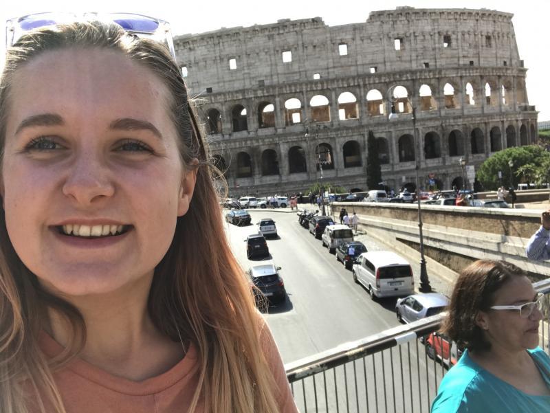 A trip to Rome!