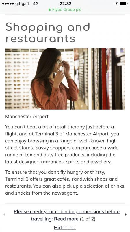 Manchester Airport- Lifestyle Model