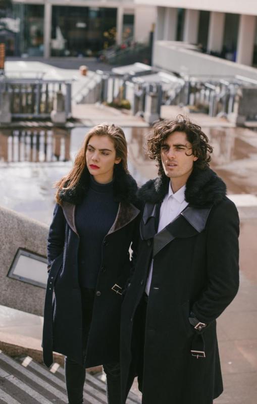 Modelling for London Coat Brand
