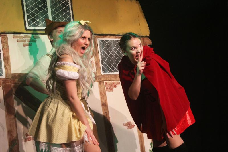 As Goldilocks in HANSEL AND GRETEL at The Market Theatre