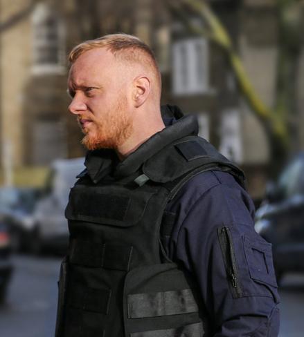 Greg as Sgt Drayton in Binge Watching