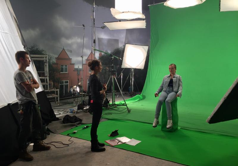 Directing Stella McCartney Commercial - Green Screen Day