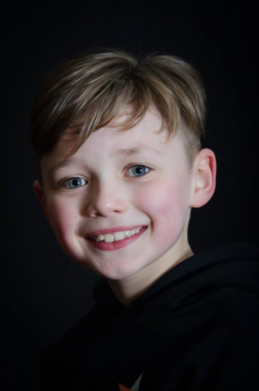 Headshot for production of 'Oliver!'
