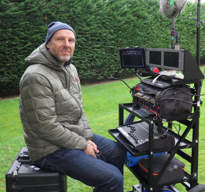Simon Haggis - Sound Cart
