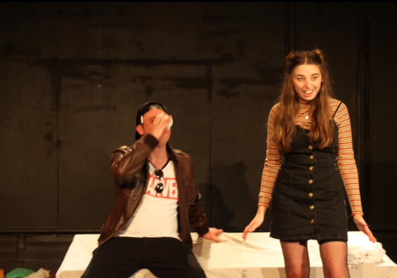 Lucky in Backpage , Lion and Unicorn theatre