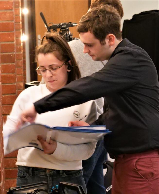 Directing on 'DESIGNATION: Limbo'