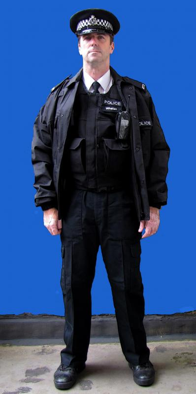 poliice uniform for filming