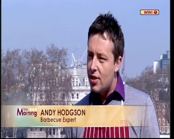 Andy Hodgson This Morning ITV
