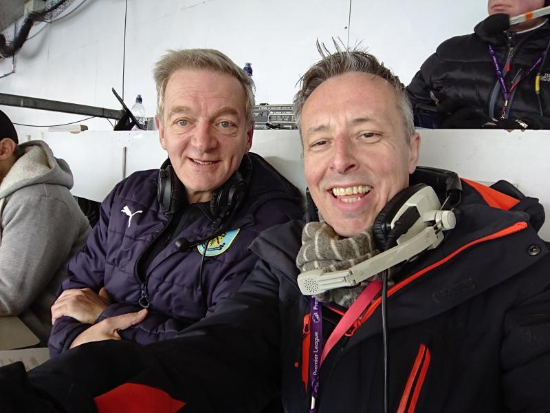 Andy Hodgson Football Commentary