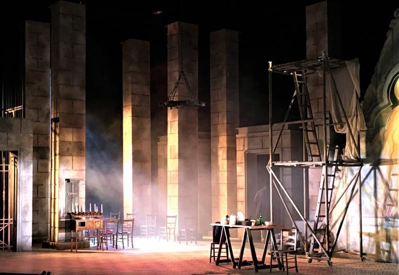 Tosca, Grange Park Opera 2107 Season