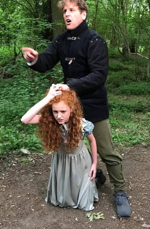 Lottie as Amelie Rose in All the Wild Roses - period drama series