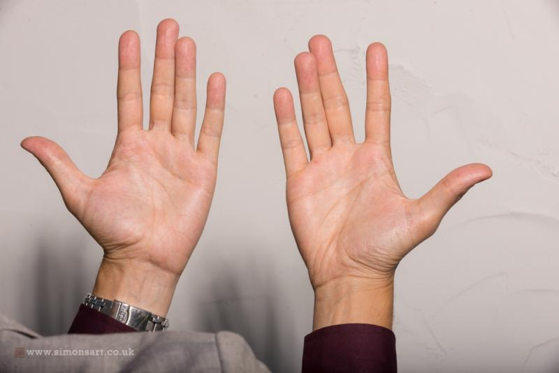 Hands - palms