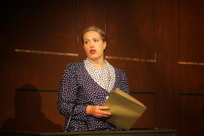 Playing Dr Wyatt in Witness for the Prosecution