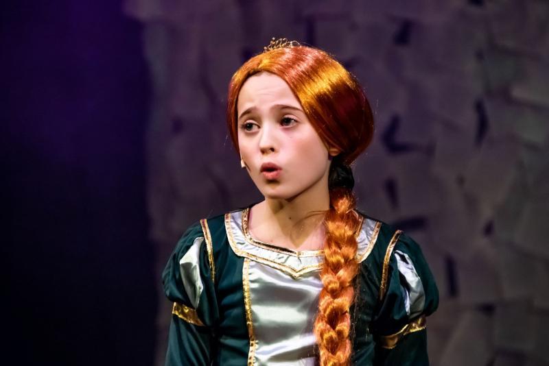 Young Fiona Shrek Junior British Theatre Academy