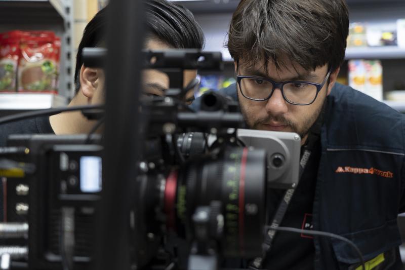 Pulling focus for DP Zhi-i Wang on 'Stolen Love' (dir. Vivian Liu)